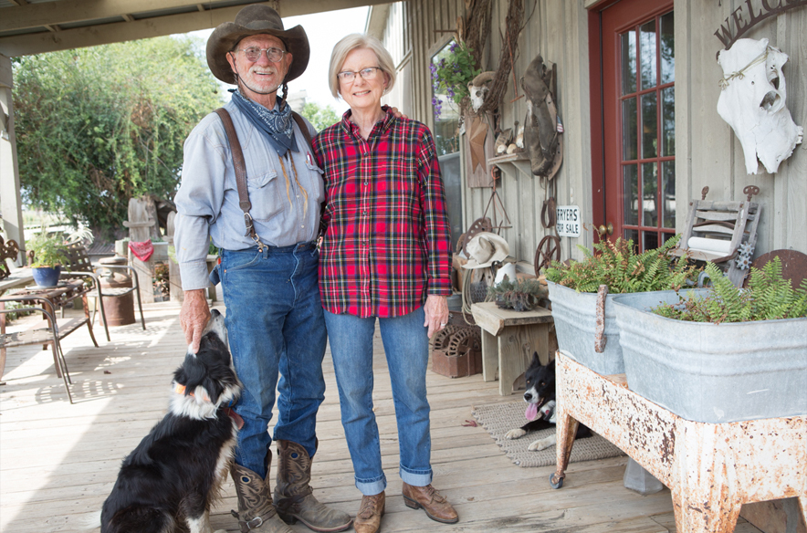 Harry and Judi of JuHa Ranch